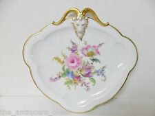 Antique RC Rosenthal Porcelain Hand Painted Dish ~ Ram Head[a4box]
