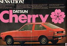 Publicité Advertising 1979  (Double page)  DATSUN CHERRY
