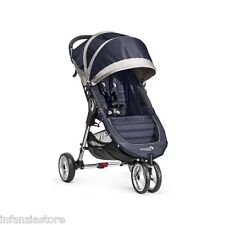 BABY JOGGER Passeggino City Mini 3 Navy Blue/Gray 2016 + GARANZIA ITALIA