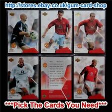 Premier League Manchester United Football Trading Cards & Stickers (2003 Season