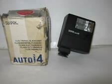 SUNPAK AUTO14 CAMERA FLASH + BOX