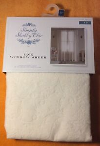 SIMPLY SHABBY CHIC 1 Window Sheer