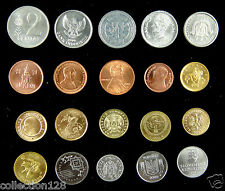 20 Coins From 20 Countries Au-Unc