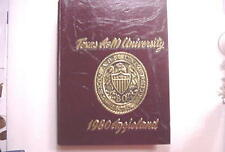 """Yearbook - TEXAS A & M UNIVERSITY 1980 """"Aggieland"""" College Station TEXAS"""