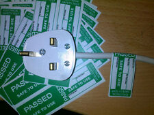 Pat Testing Labels 50 X Passed Cable Wrap Labels Pat Test Stickers