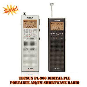 Tecsun PL-360 Digital PLL Portable AM / FM / MW Shortwave Radio with DSP Kaito