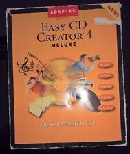 Adaptec Easy CD Creator 4 Deluxe au détail Paquet pour Windows 95, 98, NT 4.0
