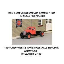 HO SCALE: 1936 CHEVROLET 2-TON HIGHWAY TRACTOR - Sylvan - Kit V-197
