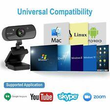 Cámara web para computadora portátil 1080P HD USB2.0 PC con micrófono Web Camera