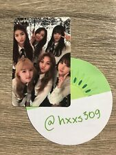 GFriend The Awakening official GROUP Photocard
