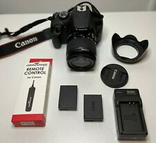 Canon EOS Rebel T7 camera DSLR GREAT COND w/ 18-55mm lens,batteries, accessories