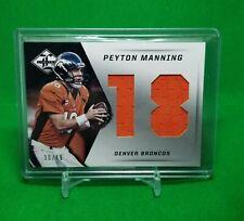 New listing 2013 Panini Limited Peyton Manning /49 Double Jumbo Jersey Relic