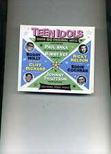 TEEN IDOLS - BOBBY VEE ELVIS MARTY WILDE PAT BOONE ADAM FAITH - 2 CDS - NEW!!