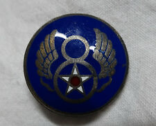 WWII US Army Air Force Sterling 8th USAF Distinctive Insignia Unit Crest