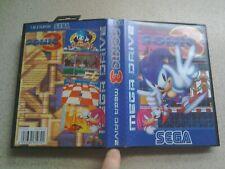 EMPTY BOX For Sega Mega Drive Game - Sonic 3 (Genuine - PAL)