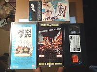 LOT OF 4 CLASSIC CHEECH & CHONG VHS VIDEO TAPES