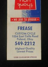 1970s Frease Custom Cycle 1004 East Calla Road Motorcycles? Bikes Poland Oh Mb