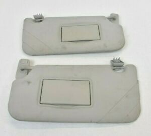 Ford Fiesta MK7 2008 - 2013 Sun Visors with Clips (Pair)