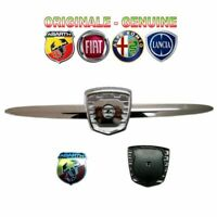 KIT ORIGINALE MASCHERINA BAFFO LOGO COMPLETA FIAT 500 ABARTH 2007-> mask frieze