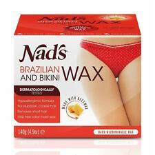 💚 Nad's Natural Brazilian and Bikini Wax Hair Removal  140g