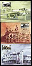 DDR 3145/7 Maximumkarten Gebäude der Deutschen Post , Postamt Berlin-Buch