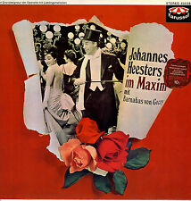 LP  Johannes Heesters im Maxim mit Barnabas von Geczy