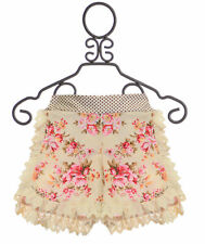 NEW Persnickety Pocket Full of Posies Tillie Shorts Floral & Lace Girls sz 4