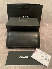 CHANEL SUNGLASS CASE 100% AUTH NEW CHANEL BOX CLEANING CLOTH, BOOK,SHOPPING BAG
