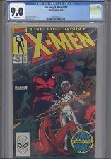 Uncanny X-Men #265 CGC 9.0 1990 Marvel Comics Andy Kubert Cover : New Frame