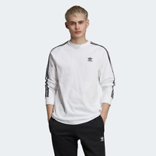 Adidas 3-Stripes Tee Casual Clothing Sportswear Active Long Sleeve Shirts