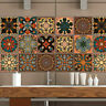 20 Pcs 3D Multi Moroccan Self-adhesive Bathroom Kitchen Wall Stair Tile Sticker