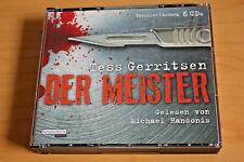 Tess Gerritsen DER MEISTER gel. Michael Hansonis Random House Hörbuch