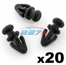20x Ford Mondeo Door Seal Clips for Sill / Lower Rubber Weatherstrip / Gasket