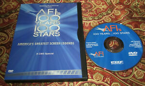 AFI's 100 Years 100 Stars DVD America's Greatest Screen Legends CBS Special Mint