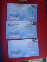 NEWCASTLE 97 BICENTENARY STAMP SHOW COVER  SET OF 3 COLOURS SPECIAL PMK 4-6 JUL