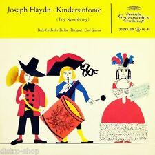 "7"" CARL GORVIN & DAS BACH-ORCHESTER BERLIN Kindersinfonie JOSEPH HAYDN DGG 1958"