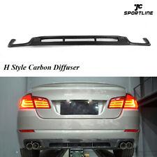 Carbon Fiber Rear Bumper Diffuser Lip for BMW F10 5-Series 528i 535i 550i 11-13