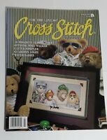 Cross Stitch 20 Patterns Cats Angels Baby Bears Poinsettia Flowerpot Easter 3/95