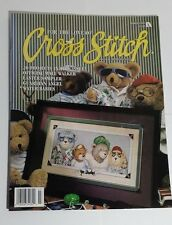Cross Stitch 20 Patterns Cats Angels Baby Bears Poinsettia Flowerpot Easter 3/95