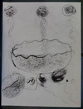 Original Dale Chihuly lithograph Untitled Black & White #1