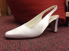 Satin Slingbacks Katz Dancewear LTD Bridal Shoes