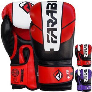 Farabi Pro Safety Tech Boxing Gloves 10oz 12oz 14oz 16oz