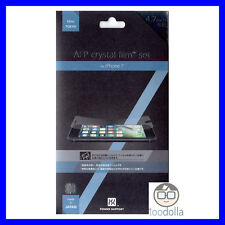 Genuine POWER SUPPORT Screen Protection Films, Crystal/Clear, Apple iPhone 7/8