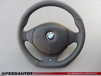 Abgeflacht Lederlenkrad M M Power BMW  E46 E39 mit Airbag (Schwarz)
