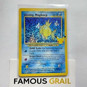 Shining Magikarp - 66/64 - Rare Holo Card - Pokemon Celebrations MINT
