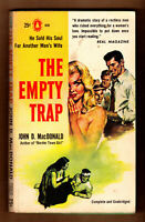 The Empty Trap, John D MacDonald vintage 1957 1st Ed. GGA in VG cond.