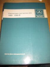 Repair Manual  Mercedes W 201 -1. Serie Passenger Cars Series 201 - 190 - 190 E