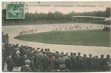 Cyclisme - Bois de Vincennes - Piste Municipale. Un Grand Départ. 1909