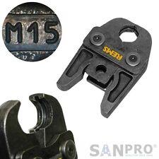 REMS 570110 Pressbacke M 15 Presszange M15 - Z.B. für Edelstahl Geberit Mapress