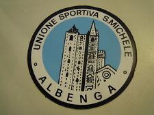 ADESIVO VINTAGE - UNIONE SPORTIVA SAN MICHELE - ALBENGA 1980ca C7-59